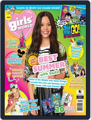 Girls' World August 1st, 2018 Digital Back Issue Cover