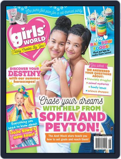 Girls' World June 1st, 2019 Digital Back Issue Cover
