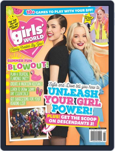 Girls' World August 1st, 2019 Digital Back Issue Cover
