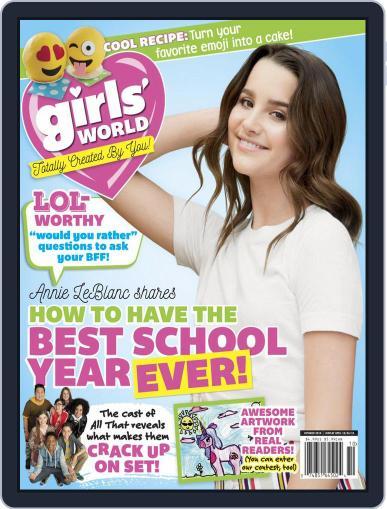 Girls' World October 1st, 2019 Digital Back Issue Cover