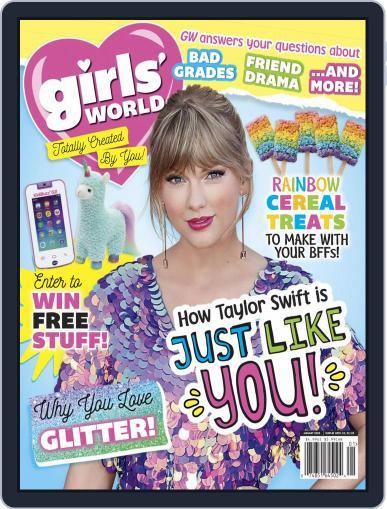 Girls' World January 1st, 2020 Digital Back Issue Cover