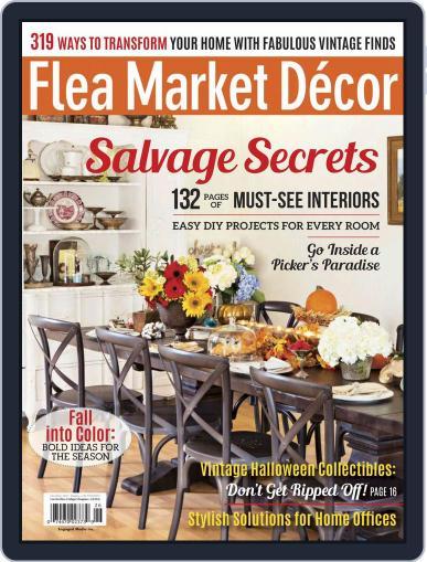 Flea Market Decor November 1st, 2017 Digital Back Issue Cover