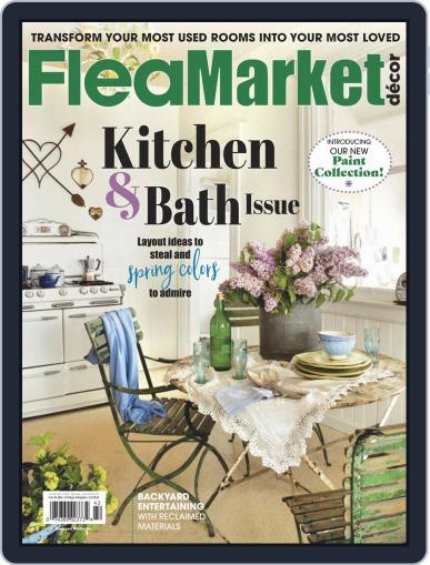 Flea Market Decor April 1st, 2019 Digital Back Issue Cover