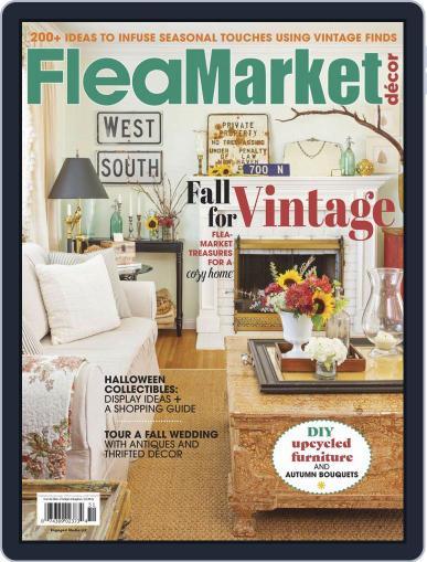 Flea Market Decor October 1st, 2019 Digital Back Issue Cover