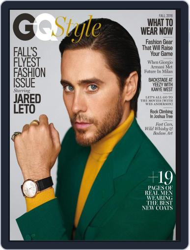 GQ Style August 1st, 2016 Digital Back Issue Cover