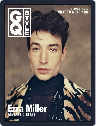 GQ Style November 8th, 2018 Digital Back Issue Cover