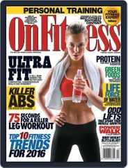 OnFitness (Digital) Subscription January 1st, 2016 Issue
