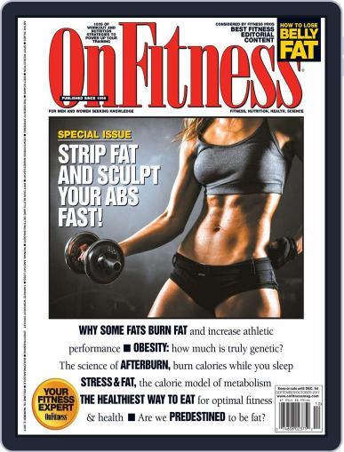 OnFitness September 1st, 2017 Digital Back Issue Cover