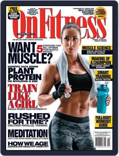 OnFitness July 1st, 2018 Digital Back Issue Cover
