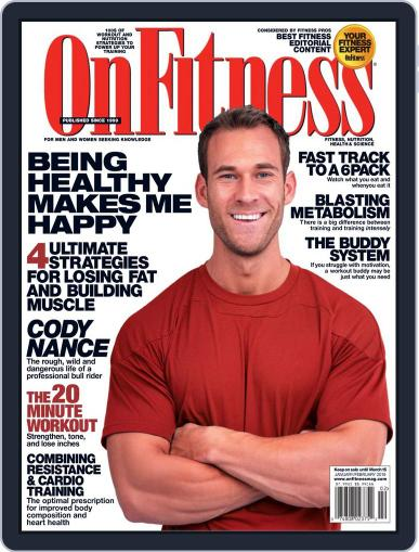 OnFitness January 1st, 2019 Digital Back Issue Cover