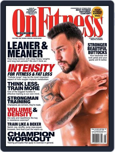 OnFitness July 1st, 2019 Digital Back Issue Cover
