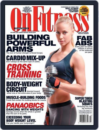OnFitness September 1st, 2019 Digital Back Issue Cover