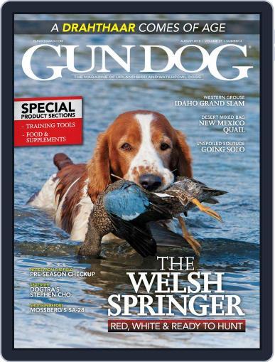 Gun Dog August 1st, 2018 Digital Back Issue Cover
