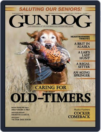 Gun Dog December 1st, 2018 Digital Back Issue Cover