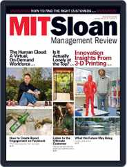 MIT Sloan Management Review (Digital) Subscription January 1st, 2013 Issue