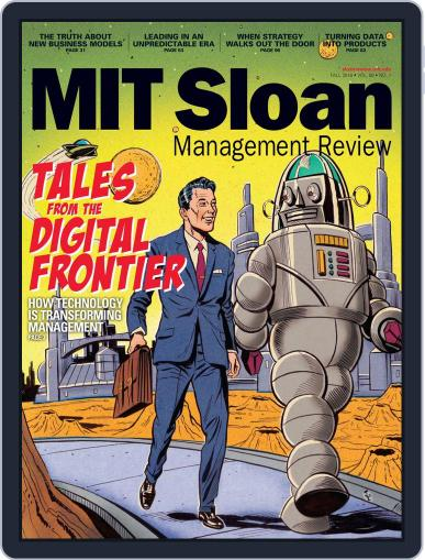 MIT Sloan Management Review September 22nd, 2016 Digital Back Issue Cover