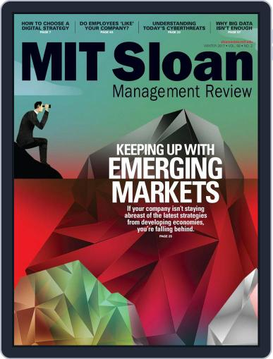 MIT Sloan Management Review January 1st, 2017 Digital Back Issue Cover