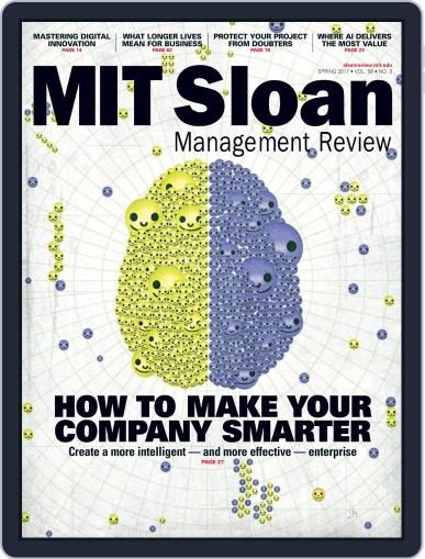 MIT Sloan Management Review March 1st, 2017 Digital Back Issue Cover