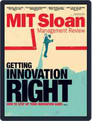 MIT Sloan Management Review (Digital) Subscription September 1st, 2017 Issue