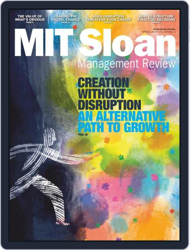 MIT Sloan Management Review April 1st, 2019 Digital Back Issue Cover