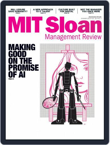 MIT Sloan Management Review May 1st, 2019 Digital Back Issue Cover