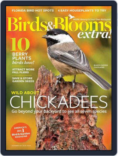 Birds and Blooms Extra November 1st, 2017 Digital Back Issue Cover