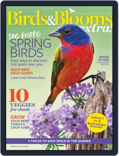 Birds and Blooms Extra March 1st, 2018 Digital Back Issue Cover