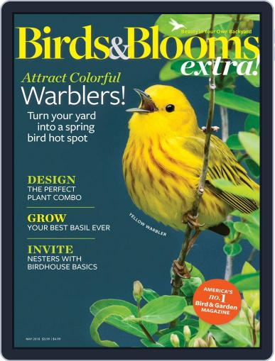Birds and Blooms Extra May 1st, 2018 Digital Back Issue Cover