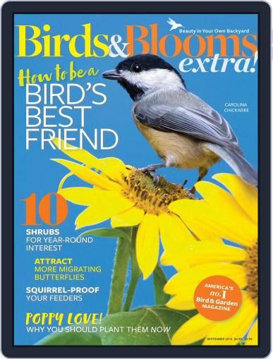Birds and Blooms Extra September 1st, 2018 Digital Back Issue Cover