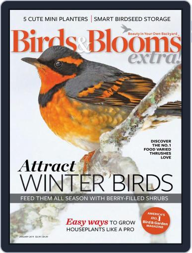 Birds and Blooms Extra January 1st, 2019 Digital Back Issue Cover
