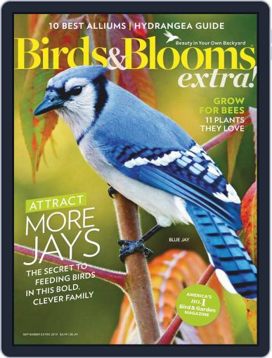 Birds and Blooms Extra September 1st, 2019 Digital Back Issue Cover