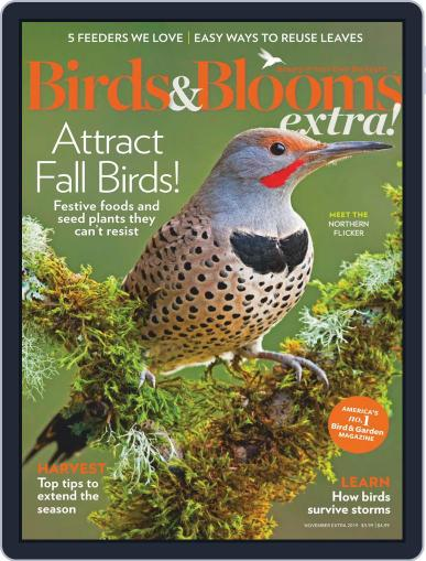 Birds and Blooms Extra November 1st, 2019 Digital Back Issue Cover