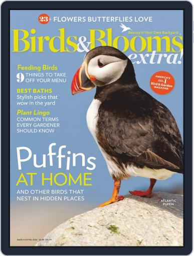 Birds and Blooms Extra March 1st, 2020 Digital Back Issue Cover