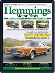 Hemmings Motor News (Digital) Subscription July 1st, 2017 Issue