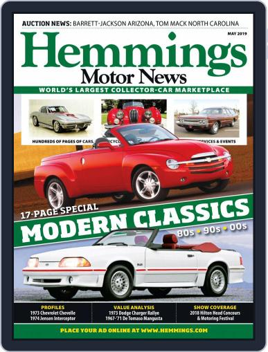 Hemmings Motor News May 1st, 2019 Digital Back Issue Cover