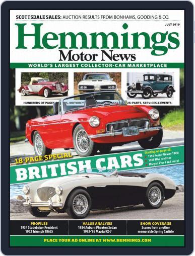 Hemmings Motor News July 1st, 2019 Digital Back Issue Cover