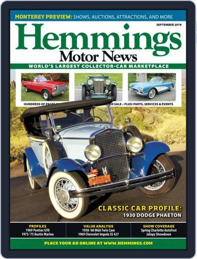 Hemmings Motor News September 1st, 2019 Digital Back Issue Cover