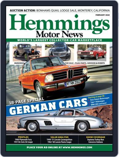 Hemmings Motor News February 1st, 2020 Digital Back Issue Cover