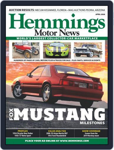 Hemmings Motor News April 1st, 2020 Digital Back Issue Cover