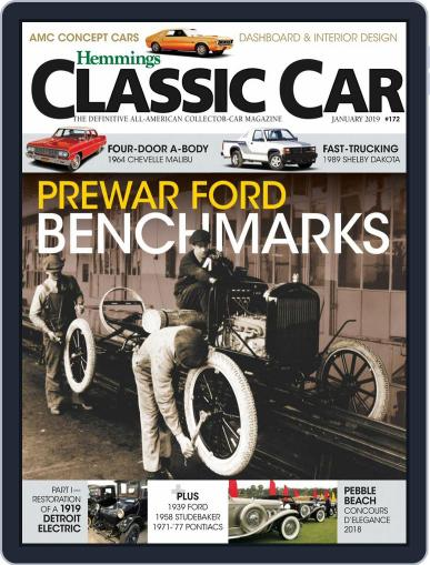 Hemmings Classic Car January 1st, 2019 Digital Back Issue Cover