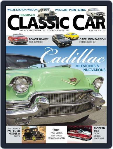 Hemmings Classic Car June 1st, 2019 Digital Back Issue Cover