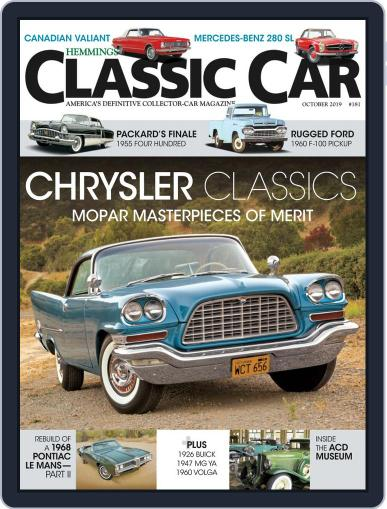Hemmings Classic Car October 1st, 2019 Digital Back Issue Cover