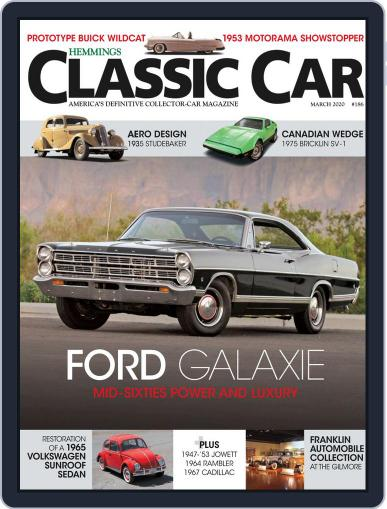 Hemmings Classic Car March 1st, 2020 Digital Back Issue Cover