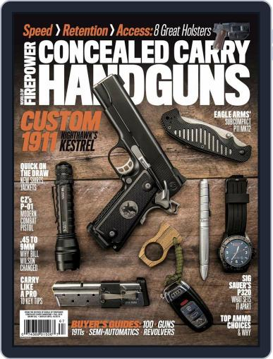 Conceal & Carry September 1st, 2016 Digital Back Issue Cover