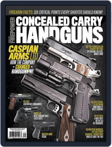Conceal & Carry December 1st, 2016 Digital Back Issue Cover
