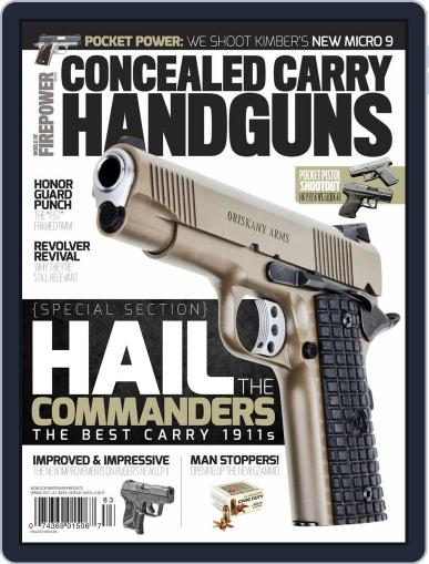 Conceal & Carry January 1st, 2017 Digital Back Issue Cover
