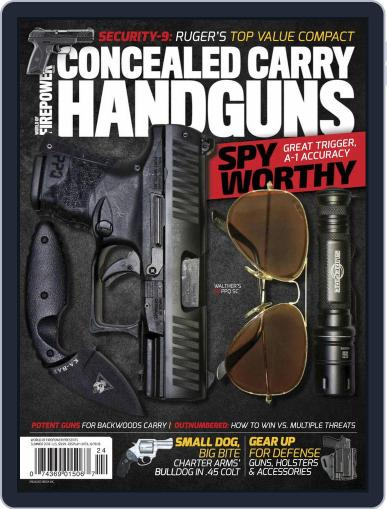 Conceal & Carry April 1st, 2018 Digital Back Issue Cover