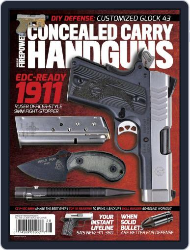 Conceal & Carry July 1st, 2018 Digital Back Issue Cover