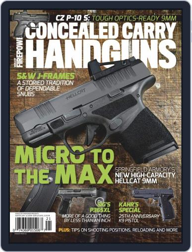 Conceal & Carry November 1st, 2019 Digital Back Issue Cover