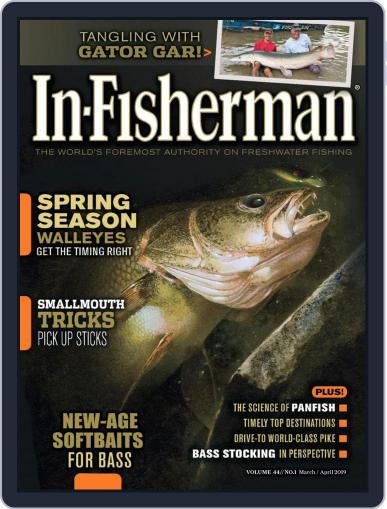 In-Fisherman March 1st, 2019 Digital Back Issue Cover